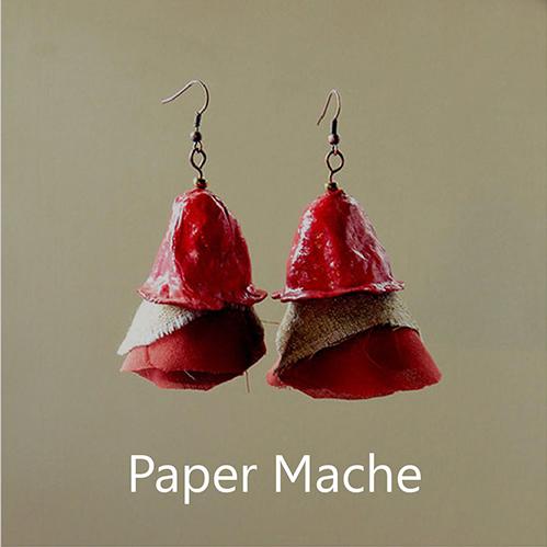 paper mache jewellery
